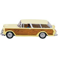 Woodland Just Plug Lighted Station Wagon HO Scale Model Railroad Vehicle #jp5599