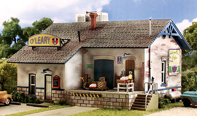 Woodland Scenics Pre-Fab Building O'Leary Dairy HO Scale -- HO Scale Model Railroad Building -- #pf5185
