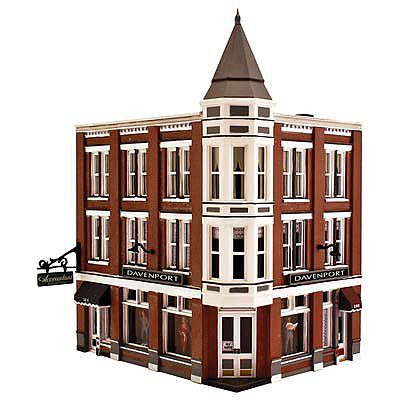 Woodland Davenport Department Store N Scale Model Railroad Building #pf5214