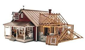Woodland Country Store Expansion O Scale O Scale Model Railroad Building #pf5894
