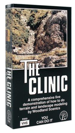 Woodland Scenics The Clinic Video -- Model Railroading Video -- #r990