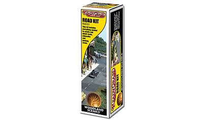 Woodland Scenics Road Kit -- Model Railroad Scenery Supply -- #rg5151