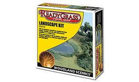 Woodland Landscape Kit Model Railroad Scenery Supply #rg5152