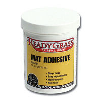 Woodland ReadyGrass Mat Adhesive (7 oz) Model Railroad Scenery Supply #rg5161