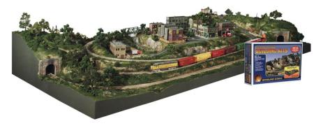 Woodland River Pass Building Kit #3 HO Scale Model Railroad Scenery Supply #s1487