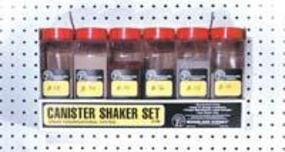 Woodland Canister Shaker Set 32 oz (6) Model Railroad Scenery Supply #s199