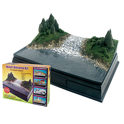 Woodland Scene-A-Rama Water Diorama Kit
