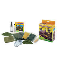 Woodland Scene-A-Rama Bushes, Foliage & Grasses Kit