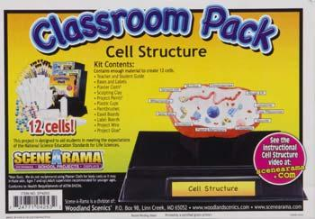Woodland Scenics Cell Structure Classroom Pk