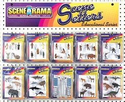 Woodland Scene-A-Rama Scene Setters Assortment (40) (DS)