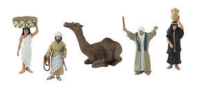 Woodland Scene-A-Rama Scene Setters Egyptian Culture Figures 1-1/2 (5pcs)