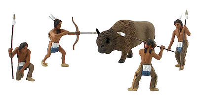 Woodland Scene Setters Native American Hunt