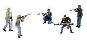 Woodland Scene Setters American Civil War Soldiers Clam