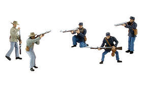 Woodland Scene Setters American Civil War Soldiers Bagged