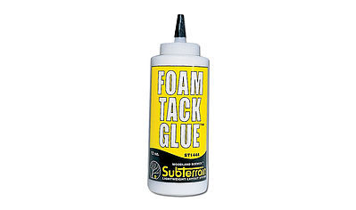 Woodland Scenics Foam Tack Glue 12 oz -- Model Railroad Foam -- #st1444