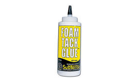 Woodland Foam Tack Glue 12 oz Model Railroad Foam #st1444