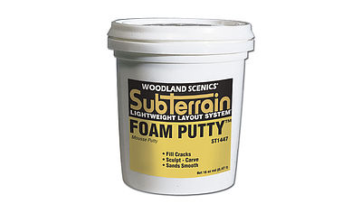Woodland Scenics Foam Putty Pint -- Model Railroad Foam -- #st1447