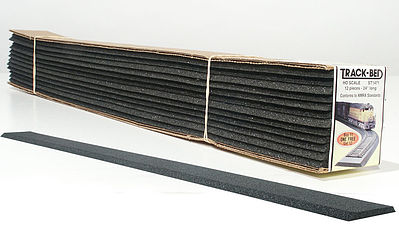 Woodland Track-Bed 2 (12) HO Scale HO Scale Model Train Track Roadbed #st1471