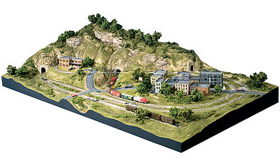 Woodland Scenic Ridge Layout N Scale Model Railroad Scenery Supply #st1482