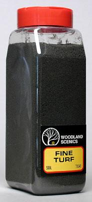 Woodland Turf Fine Soil 32 oz Model Railroad Grass Earth #t1341