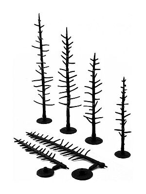Woodland Scenic Accents Assembled Tree Armatures 4-6 (44) Model Railroad Tree #tr1125