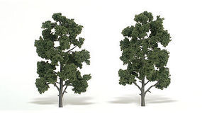 Woodland Scenic Accents Assembled Tree Medium Green 8-9 (2) Model Railroad Tree #tr1519