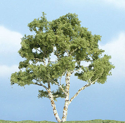 Woodland Premium Birch Tree 3-7/8 Model Railroad Tree #tr1601