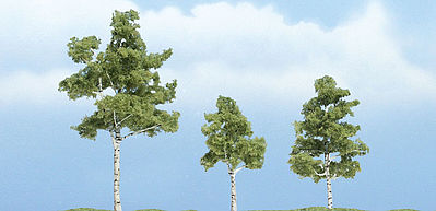 Woodland Ready Made Trees Deciduous Paper Birch - 1 Each - 1-1/2, 2-1/4 & 2-3/4 #tr1605