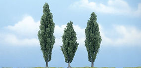 Woodland Ready Made Premium Trees Deciduous Poplar - 1 Each - 3-1/2, 4 & 4-1/2 (3) - #tr1611