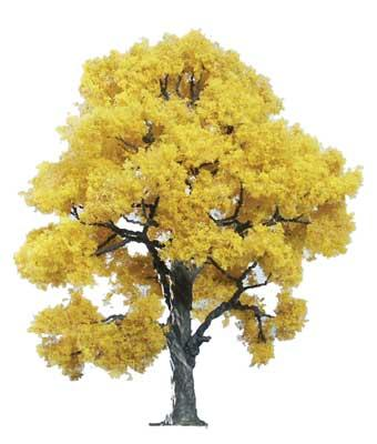Woodland Scenics Ready Made Premium Trees -- Deciduous -- Fall Beech 4'' -- Model Railroad Tree -- #tr1613