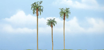 Woodland Premium Royal Palm 3 4 4.5 (3) Model Railroad Tree #tr1617