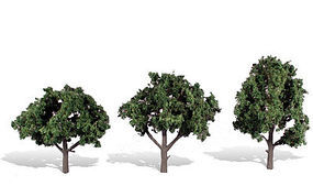 Woodland Cool Shade Trees 4 - 5 (3) Model Railroad Mold Accessory #tr3511