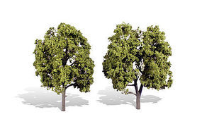Woodland Early Light Trees 5 - 6 (2) Model Railroad Trees #tr3512