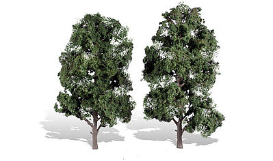 Woodland Scenics Cool Shade Trees 8'' - 9'' (2) -- Model Railroad Trees -- #tr3521