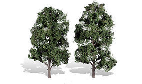Woodland Cool Shade Trees 8 - 9 (2) Model Railroad Trees #tr3521
