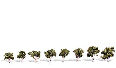 1//pkg Woodland Classics Ready-Made Trees TR3582 Hedgerow