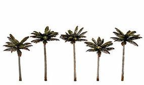Woodland Small Palm Tree 3 -3 3/4 (5) Model Railroad Tree #tr3597