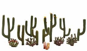 Woodland Cactus Plant 1/2 -2 1/2 (13) Model Railroad Tree #tr3600