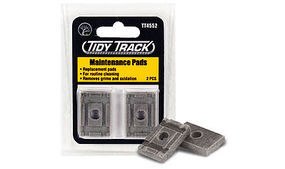 Woodland Tidy Track Maintenance Pads HO Scale Nickel Silver Model Train Track #tt4552