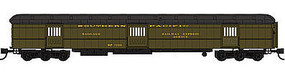 WheelsOfTime 80 Baggage-Horse Car Southern Pacific #7230 N Scale Model Train Passenger Car #1001