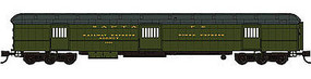 WheelsOfTime Horse Express ATSF #1980 N Scale Model Train Passenger Car #1014