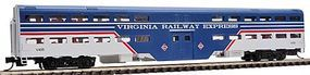 WheelsOfTime Bi-Level Commuter Coach Virginia Railway Express N Scale Model Train Passenger Car #11105