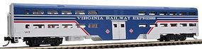 WheelsOfTime Bi-Level Commuter Coach Virginia Railway Express N Scale Model Train Passenger Car #11115