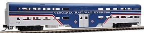WheelsOfTime Bi-Level Commuter Coach Virginia Railway Express N Scale Model Train Passenger Car #11125