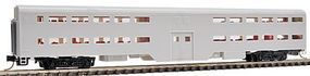 WheelsOfTime ACF Bi-Level Commuter Coach Undecorated N Scale Model Train Passenger Car #11300