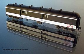 WheelsOfTime National Steel 70 Baggage-Express Canadian National N Scale Model Train Passenger Car #265