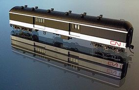 WheelsOfTime National Steel 70 Baggage-Express Canadian National N Scale Model Train Passenger Car #266