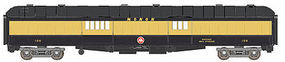 WheelsOfTime 70 Heavyweight Baggage-Express Monon #106 N Scale Model Train Passenger Car #300