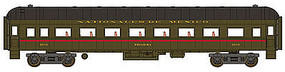 WheelsOfTime Harriman Coach Nationales de Mexico #3878 N Scale Model Train Passenger Car #362