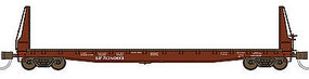 WheelsOfTime Welded Fish Belly Bulkhead Flatcar Southern Pacific N Scale Model Train Freight Car #50002